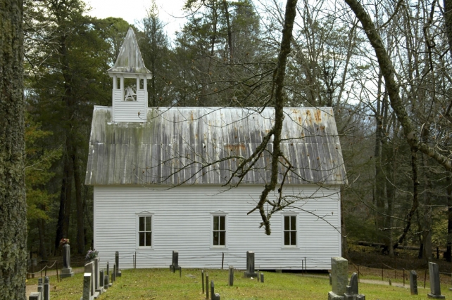 Cades Cove Methodist Church | Cades Cove | Great Smoky Mountains National Park