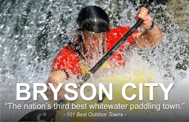 Bryson City: America's Third Best Whitewater Paddling Town