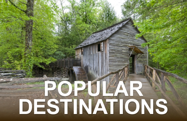 Popular Destinations | Great Smoky Mountains National Park