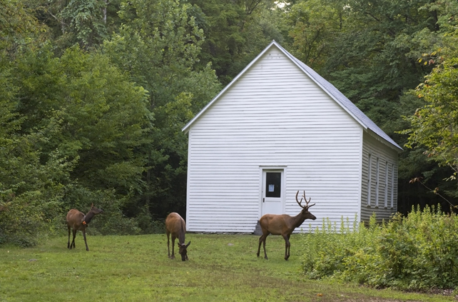 Beech Grove School | Cataloochee Valley | Great Smoky Mountains National Park