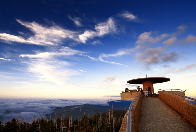 Clingman's Dome Observation Tower | Great Smoky Mountains National Park