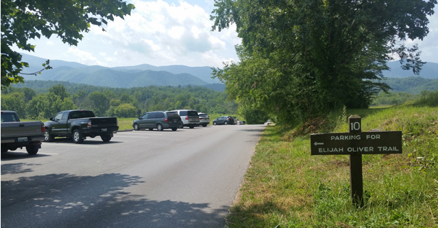Elijah Oliver Trail Parking   Cades Cove   Great Smoky Mountains National Park   My Smoky Mountain Guide