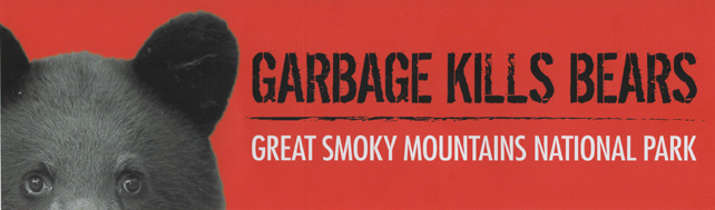 Garbage Kills Bears Bumper Sticker