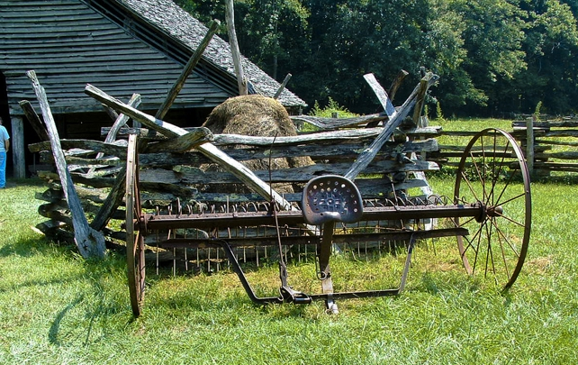 Old Hay Rake | Mountain Farm Museum | Great Smoky Mountains National Park