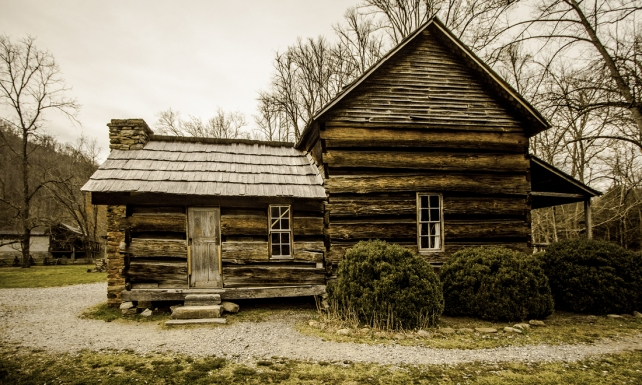 Davis Home | Oconaluftee Mountain Farm Museum | Great Smoky Mountains National Park