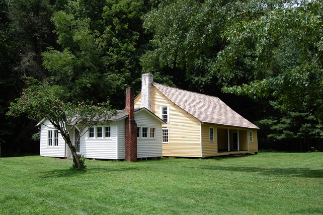 Palmer House | Cataloochee Valley | Great Smoky Mountains National Park