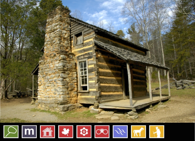 John Oliver Cabin | Cades Cove | Rich Mountain Trail