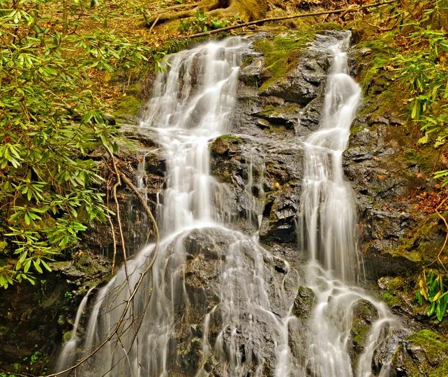 Cataract Falls   Gatlinburg Trail Side Trip   My Smoky Mountain Guide