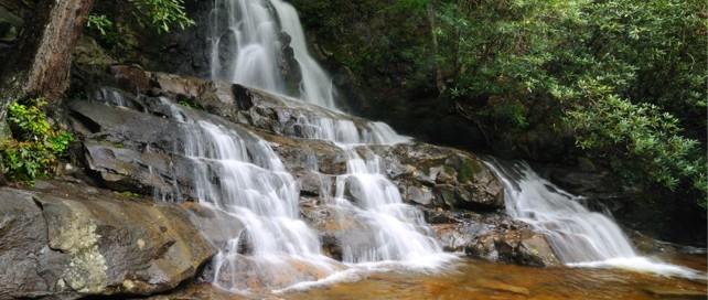 Laurel Falls Trail   Laurel Falls   Great Smoky Mountains National Park