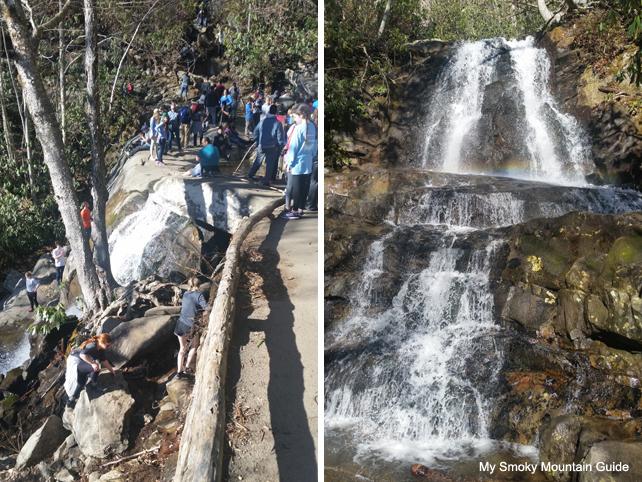 Laurel Falls Trail Climbing