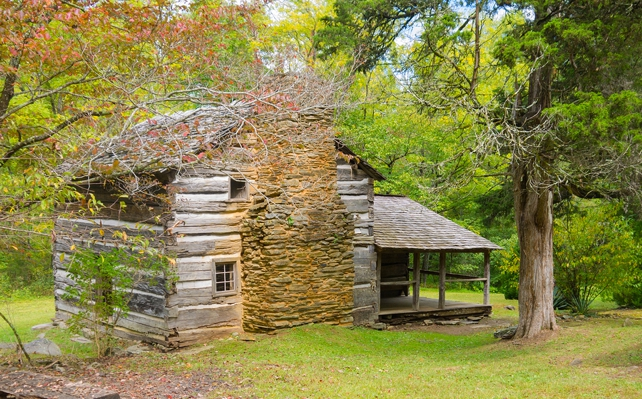Walker Sisters' Cabin | Metcalf Bottoms Trail & Little Brier Gap Trail | Great Smoky Mountains National Park