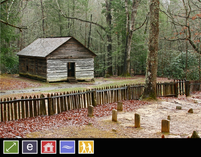 Little Greenbrier Schoolhouse | Metcalf Bottoms Trail | Great Smoky Mountains National Park