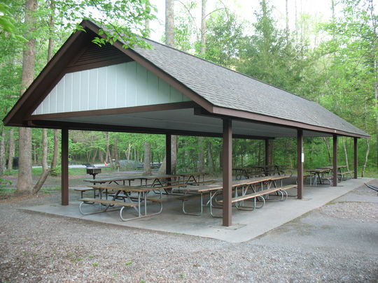 Metcalf Bottoms Picnic Pavilion   Metcalf Bottoms Trail   Great Smoky Mountains National Park