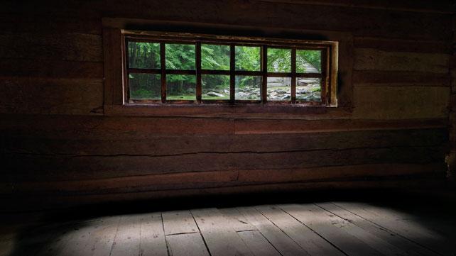 Bud Ogle Cabin Windows | Noah
