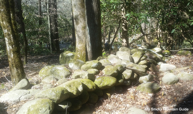 Stone Fence | Sugarlands Valley Nature Trail