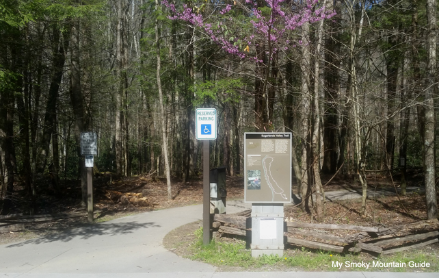 Sugarlands Valley Nature Trail Trailhead