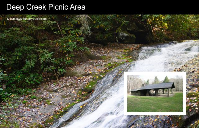 Deep Creek Picnic Area | Great Smoky Mountains National Park | My Smoky Mountain Guide