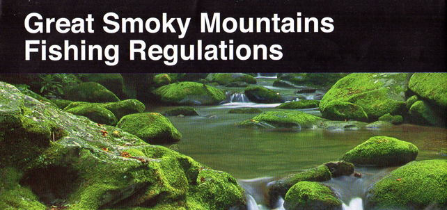 Great Smoky Mountains Fishing Regulations | Brochure Cover | My Smoky Mountain Guide