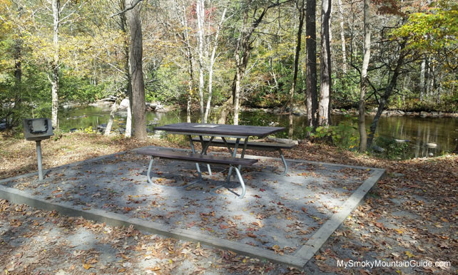 Metcalf Bottoms Picnic Table | Great Smoky Mountains National Park