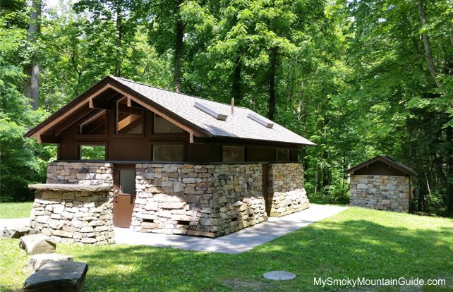 Twin Creeks Picnic Pavilion | Comfort Station | Great Smoky Mountains National Park