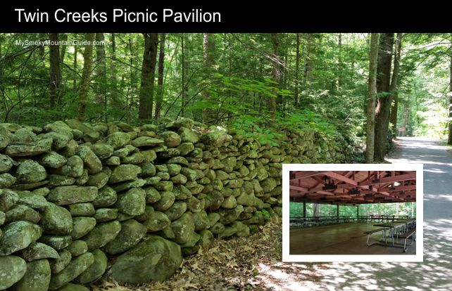 Twin Creeks Picnic Pavilion | Great Smoky Mountains National Park | My Smoky Mountain Guide