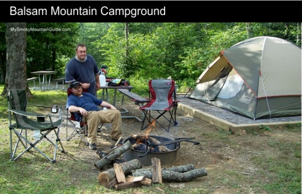 7 Balsam Mountain Campground Great Smoky Mountains