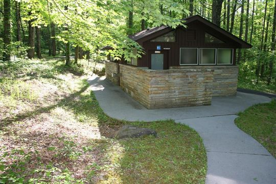 Cosby Campground Restrooms | My Smoky Mountain Guide