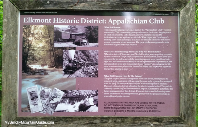 Elkmont Historic District | Elkmont, Tennessee | Great Smoky Mountains National Park