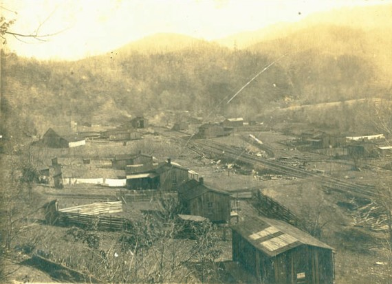 Elkmont Logging Town in 1915 | Great Smoky Mountains National Park