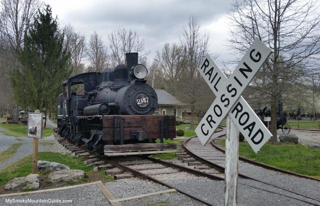 Original Train | Little River Lumber Company and Railroad Museum | Townsend, TN