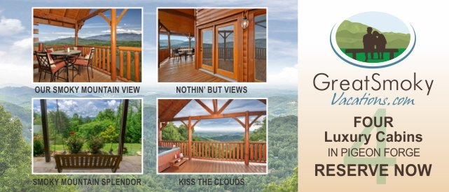 Reserve a Luxury Cabin in Pigeon Forge Now!