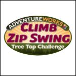 Adventureworks Climb Zip Swing | Sevierville, TN