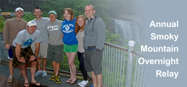 Smoky Mountain Overnight Relay Participants, Bryson City, NC