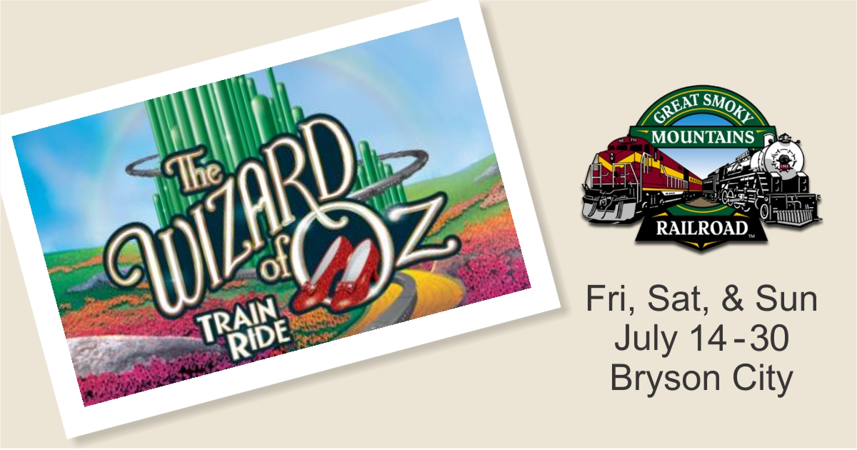 Wizard of Oz Train Ride | Great Smoky Mountains Railroad | Bryson City, NC