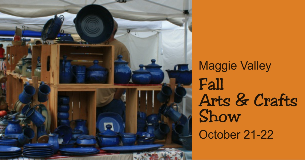Maggie valley fall arts crafts show 21 22 october 2017 for Gatlinburg civic center craft show