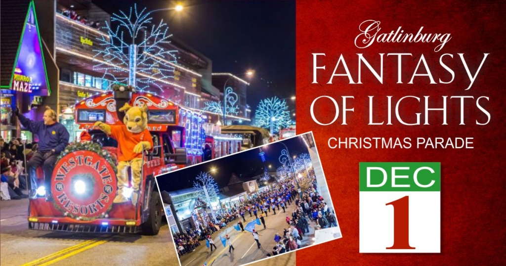 Gatlinburg Christmas Parade.Fantasy Of Lights Christmas Parade Gatlinburg Tn 1