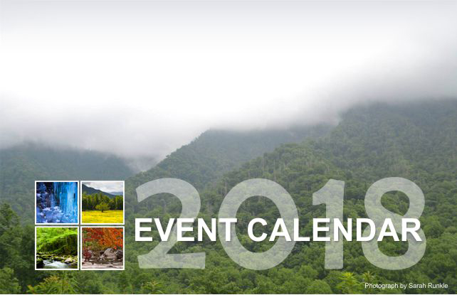 2018 Event Calendar | My Smoky Mountain Guide