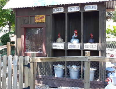 Chicken Coop at Ripley's Old MacDonald's Farm Mini Golf