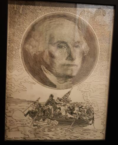 George Washington Line Drawing