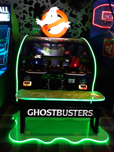 GhostBusters Arcade Game at Ripley's Fun Zone Arcade