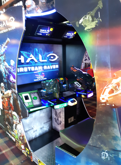 HALO Fireteam Raven Game at Ripley's Fun Zone Arcade