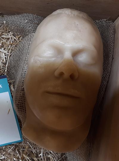 John Dillinger's Death Mask