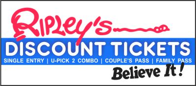 Ripley's Discount Tickets