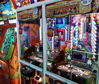 Token Bank Game at Ripley's Super Fun Zone Arcade