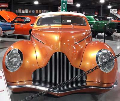 1940 Mercury Convertible Afterglow