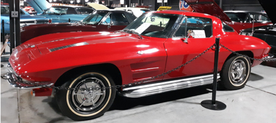 1963 Split Window Corvette