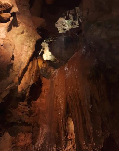 Inside Tuckaleechee Caverns