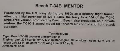 Beech T-34B Info