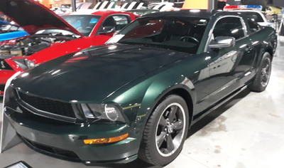 Bullitt 40th Anniversary Edition Mustang