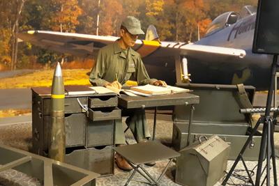 Military Campsite Scene